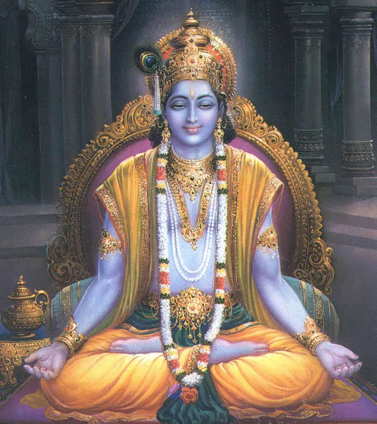 Great Wallpaper Lord Mahavishnu - lord-krishna  Trends_4338.jpg